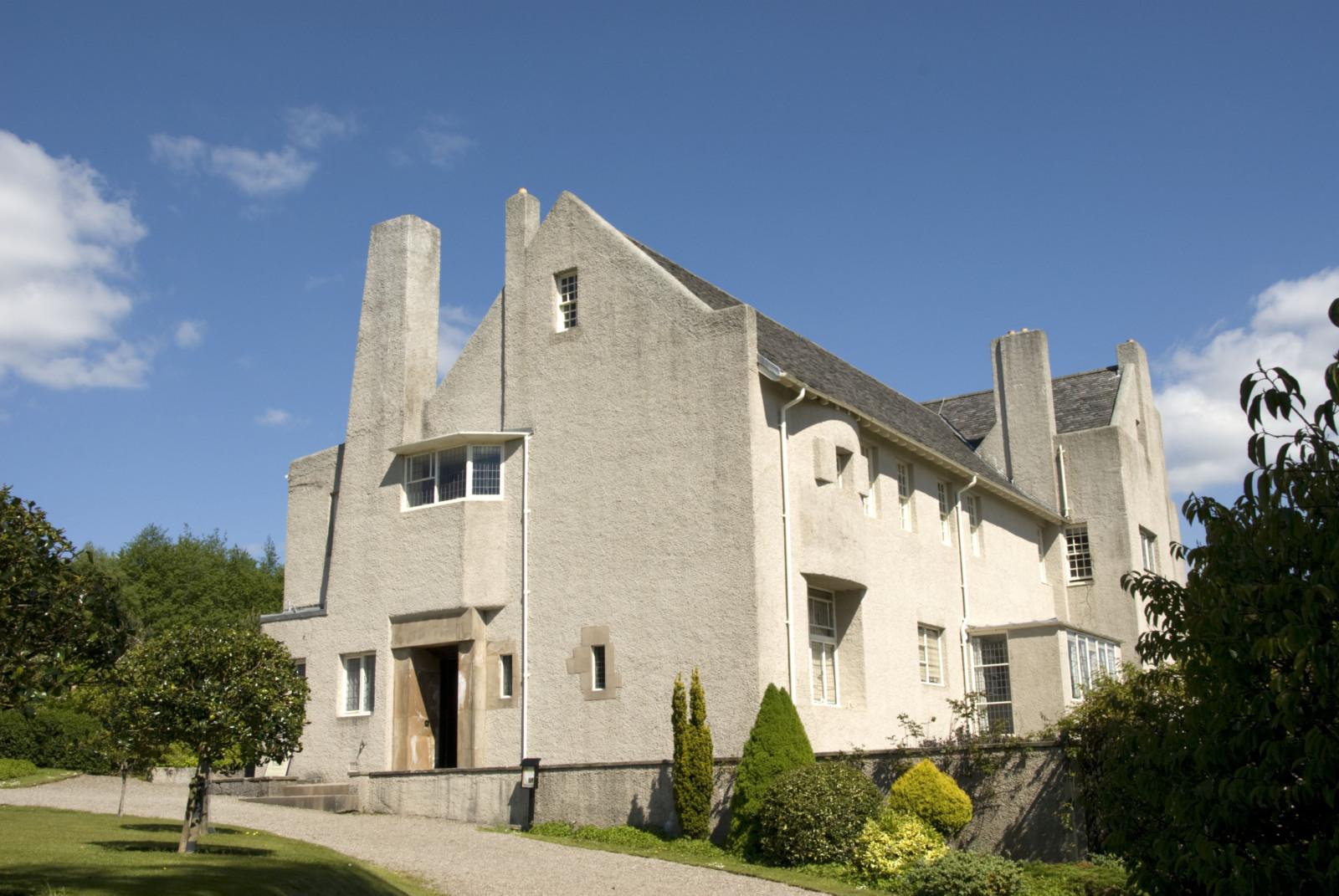 The Hill House, NTS, Argyll, Bute & Loch Lomond