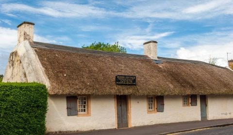 Also on the site is Burns Cottage, where Robert Burns was born in 1759
