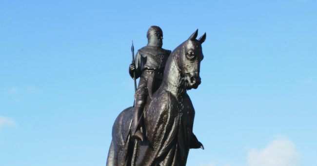 Monument to the Battle of Bannockburn